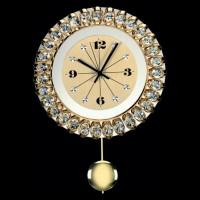 Хрустальные часы 99 008 21 Preciosa