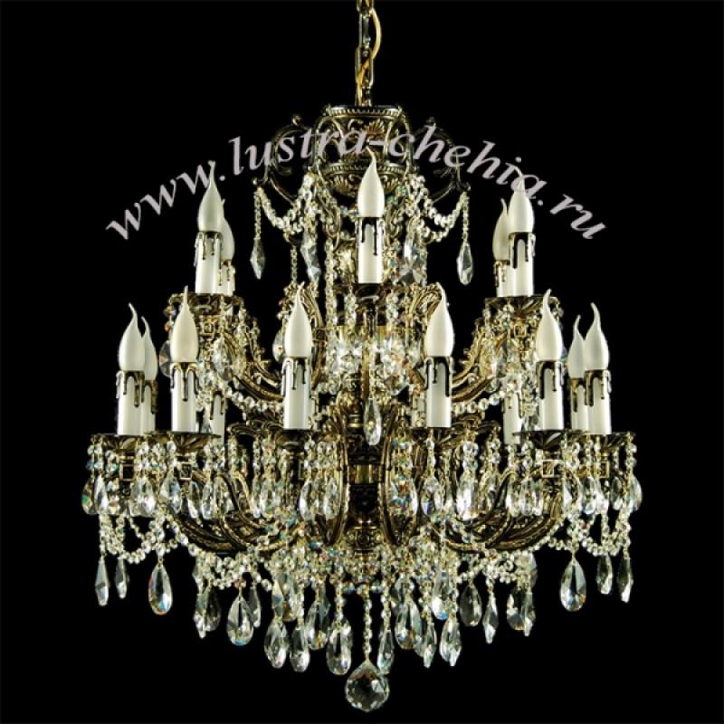 Настольная лампа декоративная Fibi H310-11-G купить в
