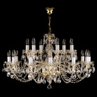 Чешская хрустальная люстра Art Glass CAMERON XVIII