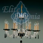 L210/8/03 BLACK люстра хрустальная Elite Bohemia