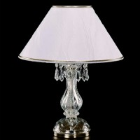 S101/1/03 хрустальная настольная лампа Elite Bohemia