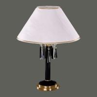 S210/1/03black хрустальная настольная лампа Elite Bohemia