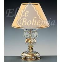 S651/1/03 хрустальная настольная лампа Elite Bohemia