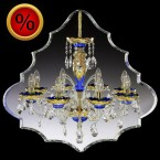 L520/8/33 люстра хрустальная Elite Bohemia
