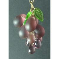 Подвеска виноград Amethyst